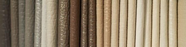 Κατάλογος του πολύχρωμου μίμησης δέρματος από matting το υπόβαθρο σύστασης υφάσματος, σύσταση υφάσματος leatherette, υπόβαθρο βιο στοκ φωτογραφίες με δικαίωμα ελεύθερης χρήσης