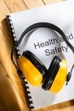 Κατάλογος υγειών και ασφαλειών Στοκ φωτογραφία με δικαίωμα ελεύθερης χρήσης