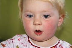κατάπληξη μικρών παιδιών το&upsi Στοκ Εικόνες