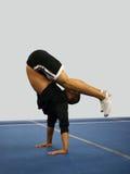 κατάπληξη handstand στοκ εικόνες