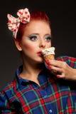 Κατάπληκτο κορίτσι Στοκ φωτογραφία με δικαίωμα ελεύθερης χρήσης