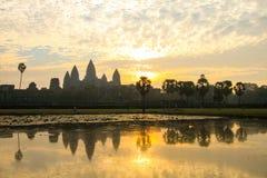 Κατάπληξη Angkor Wat Στοκ φωτογραφία με δικαίωμα ελεύθερης χρήσης