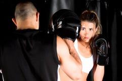 κατάρτιση γαντιών πυγμαχία&s στοκ φωτογραφίες με δικαίωμα ελεύθερης χρήσης