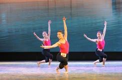 Κατάρτιση για το μπάρα-βασικό εκπαιδευτικό μάθημα χορού Στοκ φωτογραφίες με δικαίωμα ελεύθερης χρήσης