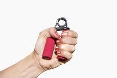 Κατάρτιση μυών χεριών Στοκ εικόνα με δικαίωμα ελεύθερης χρήσης