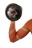 κατάρτιση μυών στοκ φωτογραφία με δικαίωμα ελεύθερης χρήσης