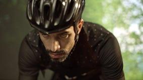 Κατάρτιση ποδηλατών για το γύρο de Γαλλία απόθεμα βίντεο