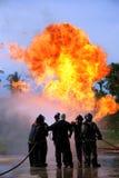 Κατάρτιση προσβολής του πυρός Στοκ Εικόνες