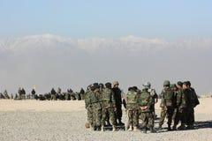 κατάρτιση στρατιωτών στοκ εικόνες