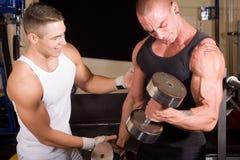 κατάρτιση bodybuilders στοκ εικόνες
