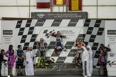 Κατάρ MotoGP 2013 στοκ φωτογραφίες
