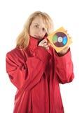 κατάσκοπος χάκερ κοριτ&sigm Στοκ φωτογραφία με δικαίωμα ελεύθερης χρήσης