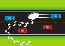 κατάσταση 01 δρόμων ελεύθερη απεικόνιση δικαιώματος