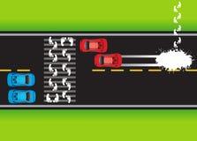 κατάσταση 02 δρόμων απεικόνιση αποθεμάτων