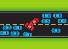 κατάσταση 03 δρόμων ελεύθερη απεικόνιση δικαιώματος