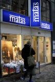 ΚΑΤΆΣΤΗΜΑ ΑΛΥΣΊΔΩΝ MATAS Στοκ φωτογραφία με δικαίωμα ελεύθερης χρήσης