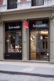 Κατάστημα λαμπτήρων Artemide στην οδό Greene, στη Νέα Υόρκη Στοκ Εικόνα