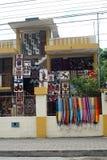 Κατάστημα αναμνηστικών σε Banos, Ισημερινός στοκ εικόνα με δικαίωμα ελεύθερης χρήσης