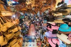 Κατάστημα αναμνηστικών στην κεντρική αγορά στη Κουάλα Λουμπούρ Στοκ φωτογραφίες με δικαίωμα ελεύθερης χρήσης