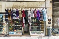 Κατάστημα αναμνηστικών στο Παλέρμο στη Σικελία, Ιταλία Στοκ φωτογραφία με δικαίωμα ελεύθερης χρήσης