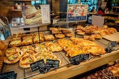 κατάστημα αρτοποιείων στοκ φωτογραφία
