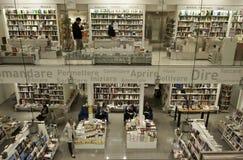 Κατάστημα βιβλιοθήκης στη Φλωρεντία Ιταλία Στοκ εικόνα με δικαίωμα ελεύθερης χρήσης