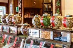 Κατάστημα γλυκών καραμελών στην Ιαπωνία Στοκ Εικόνα