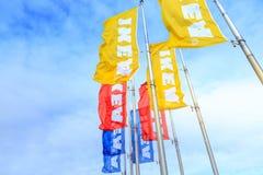 Κατάστημα εγχώριων επιπλώσεων της IKEA Τοποθετημένος στους καταρράκτες Pkwy, Πόρτλαντ, Στοκ φωτογραφίες με δικαίωμα ελεύθερης χρήσης