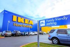 Κατάστημα εγχώριων επιπλώσεων της IKEA Τοποθετημένος στους καταρράκτες Pkwy, Πόρτλαντ, Στοκ Φωτογραφία