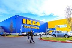 Κατάστημα εγχώριων επιπλώσεων της IKEA Τοποθετημένος στους καταρράκτες Pkwy, Πόρτλαντ, Στοκ εικόνα με δικαίωμα ελεύθερης χρήσης