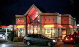 Κατάστημα εστιατορίων Arby ` s Στοκ εικόνα με δικαίωμα ελεύθερης χρήσης