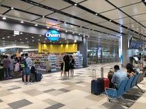 Κατάστημα ευθυμίας στο αεροδρόμιο στοκ φωτογραφία