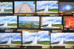 Κατάστημα ηλεκτρονικής Στοκ φωτογραφίες με δικαίωμα ελεύθερης χρήσης