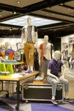 Κατάστημα ιματισμού Menswear Στοκ φωτογραφία με δικαίωμα ελεύθερης χρήσης