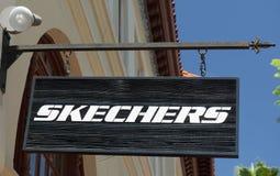 31334cfaaa8 Κατάστημα παπουτσιών Skechers Εκδοτική Φωτογραφία - εικόνα από ...