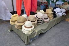 κατάστημα καπέλων Στοκ εικόνα με δικαίωμα ελεύθερης χρήσης