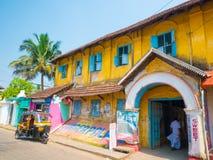 Κατάστημα καρυκευμάτων στην Ινδία Στοκ Φωτογραφίες