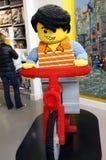 Κατάστημα Κοπεγχάγη LEGO Στοκ Εικόνες