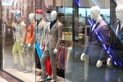 κατάστημα μανεκέν μόδας mens Στοκ Εικόνα