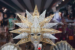 Κατάστημα μασκών της Βενετίας καρναβάλι Στοκ Φωτογραφία