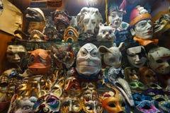 Κατάστημα μασκών της Βενετίας καρναβάλι Στοκ Εικόνα