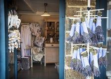 Κατάστημα με τα προϊόντα lavender Στοκ Φωτογραφίες