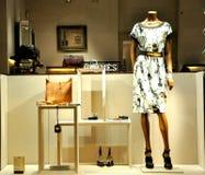 Κατάστημα μόδας της Hermes στην Ιταλία Στοκ Φωτογραφίες