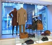 κατάστημα μόδας Στοκ Φωτογραφία