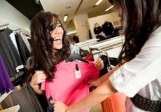 κατάστημα μόδας Στοκ Εικόνα