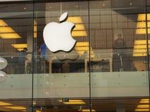 Κατάστημα Μόναχο της Apple Στοκ Εικόνες