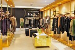 κατάστημα μόδας ιματισμού Στοκ Εικόνα