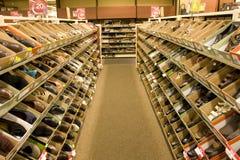 Κατάστημα μόδας παπουτσιών στοκ φωτογραφίες