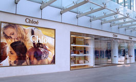 Κατάστημα μόδας της Chloe στην Κίνα Στοκ φωτογραφίες με δικαίωμα ελεύθερης χρήσης