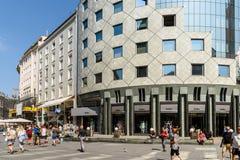 Κατάστημα μόδας της Zara Στοκ φωτογραφία με δικαίωμα ελεύθερης χρήσης
